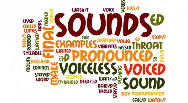 regular-verbs-pronunciation-of-ed-endings-illustration